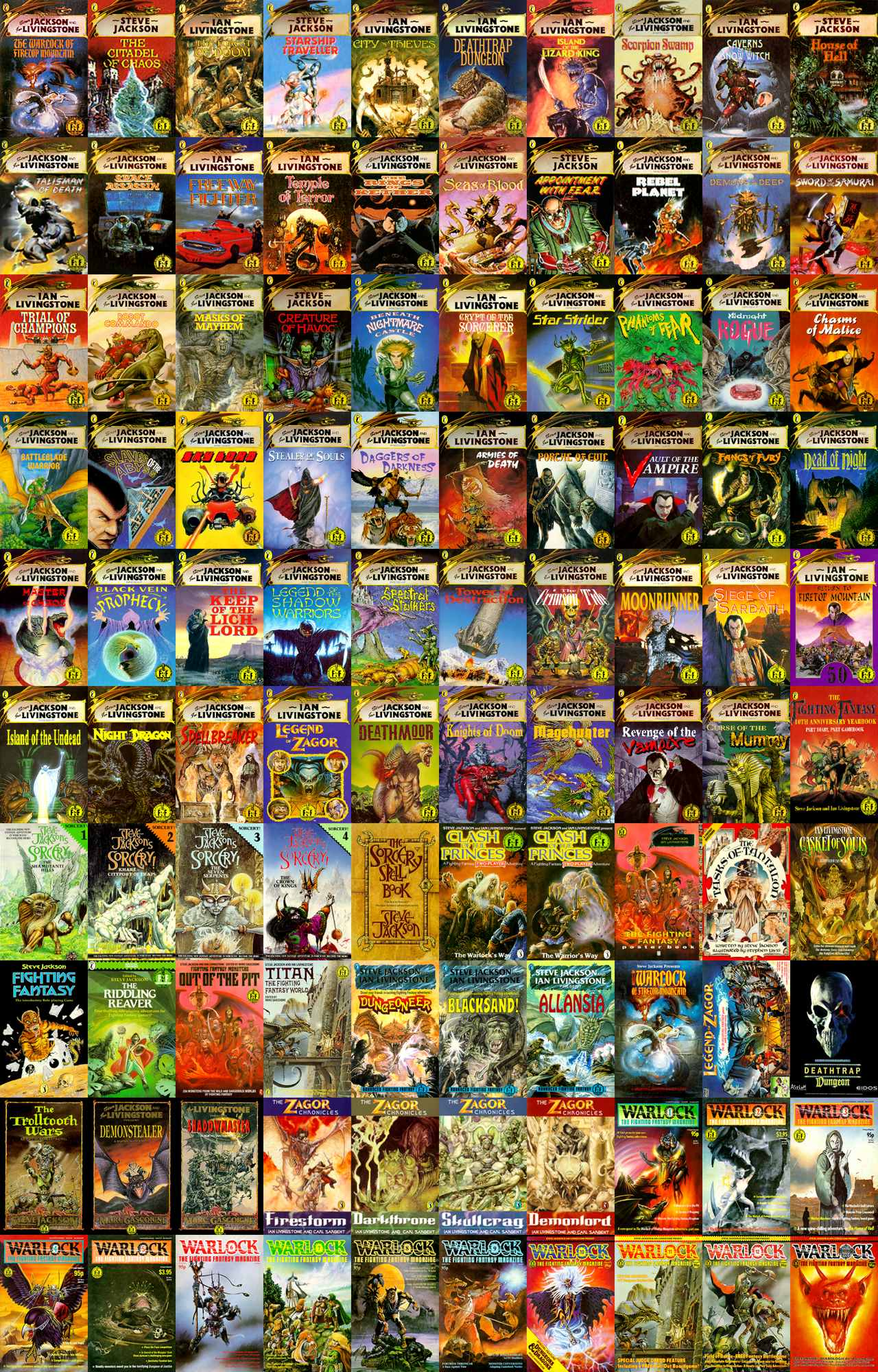Book Cover Photography Games : Fighting fantasy gamebooks and video games off topic